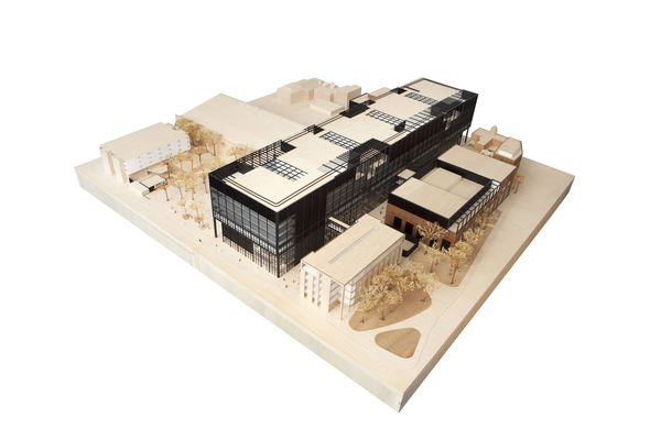 Mecd model closed   mecanoo architecten