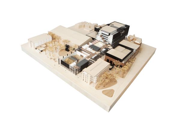 Mecd model open   mecanoo architecten