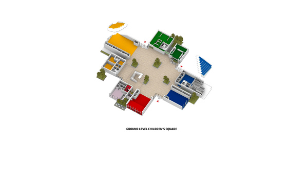 Lego house 3d axo 1 drawing by big original