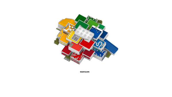 Lego house 3d axo 3 drawing by big original