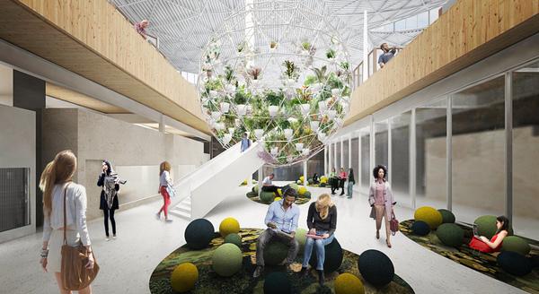 09 biopshere courtyard view 01 image by big bjarke ingels group original