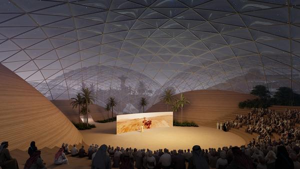 Big mars city first phase 63 amphitheater image by big bjarke ingels group original