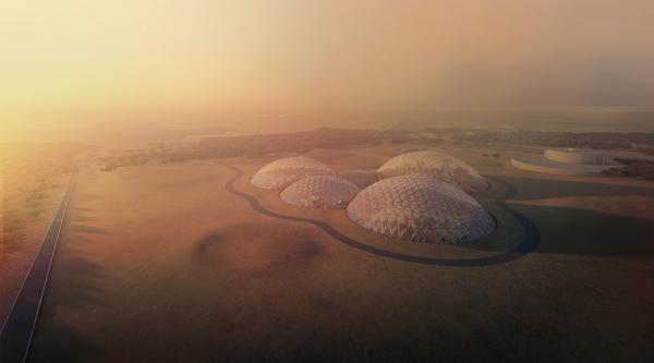 Big mars city first phase 66 aerial image by big bjarke ingels group original
