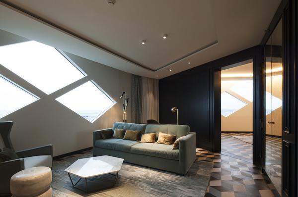Hilton amsterdam airport schiphol diamant suite