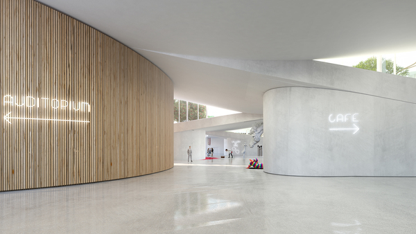 08 big acg adelaide contemporary gallery corridor image by big bjarke ingels group original