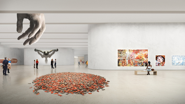 11 big acg adelaide contemporary gallery underground gallery image by big bjarke ingels group original