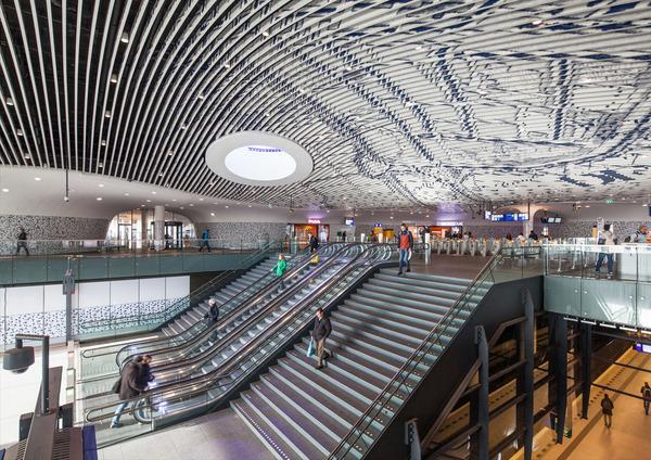 18 delft city hall and train station photo by mecanoo architecten
