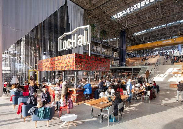 1 lochal library interior design image by ossip architectuurfotografie