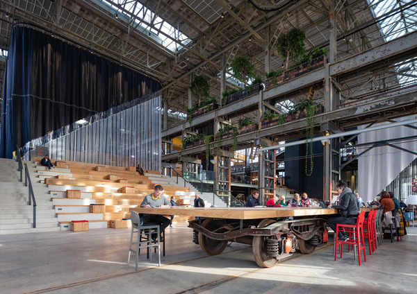4 lochal library interior design image by ossip architectuurfotografie