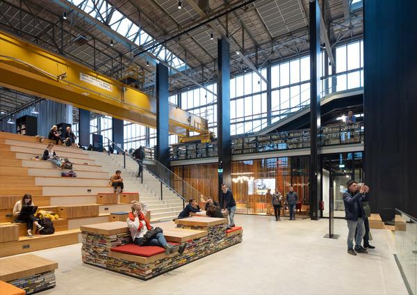 6 lochal library interior design image by ossip architectuurfotografie