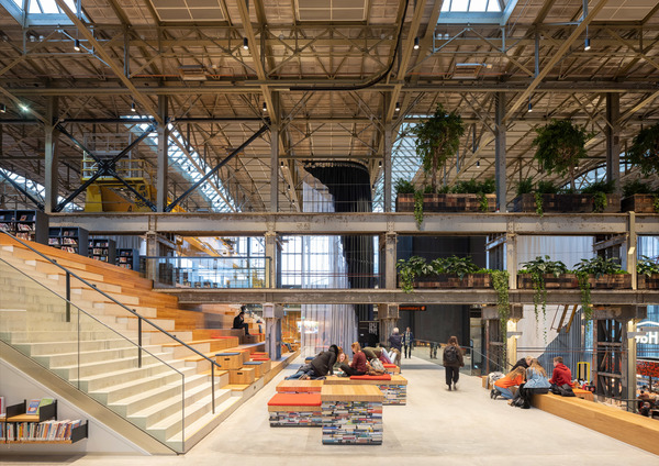 5 lochal library interior design image by ossip architectuurfotografie