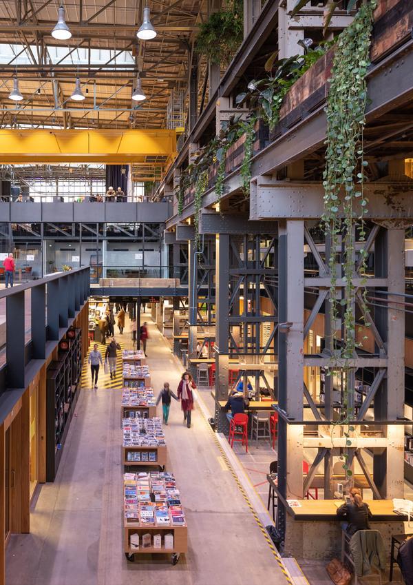 13 lochal library interior design image by ossip architectuurfotografie