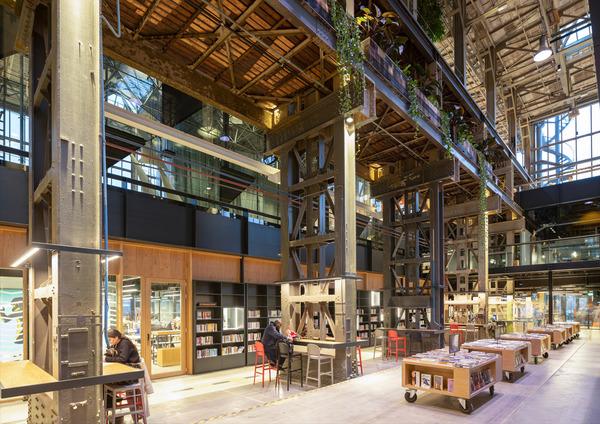 12 lochal library interior design image by ossip architectuurfotografie