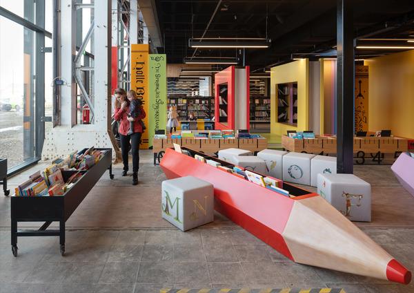 16 lochal library interior design image by ossip architectuurfotografie