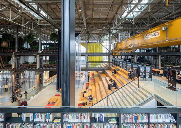 8 lochal library interior design image by ossip architectuurfotografie