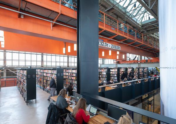 14 lochal library interior design image by ossip architectuurfotografie