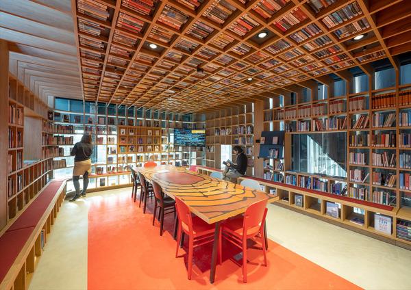 15 lochal library interior design image by ossip architectuurfotografie