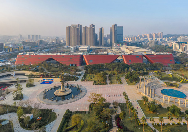 Longgang cultural centre by zhang chao 1