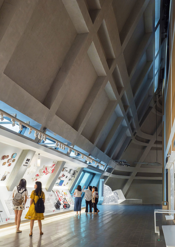Longgang cultural centre public art centre by zhang chao 14