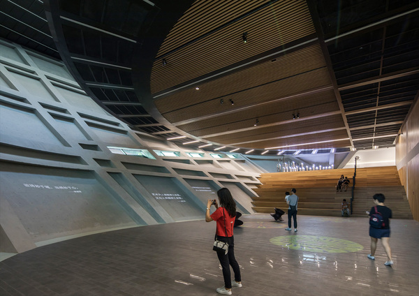 Longgang cultural centre public art centre by zhang chao 17