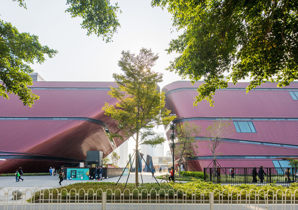 Longgang cultural centre by zhang chao 12