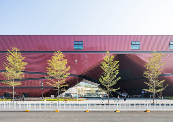 Longgang cultural centre by zhang chao 11