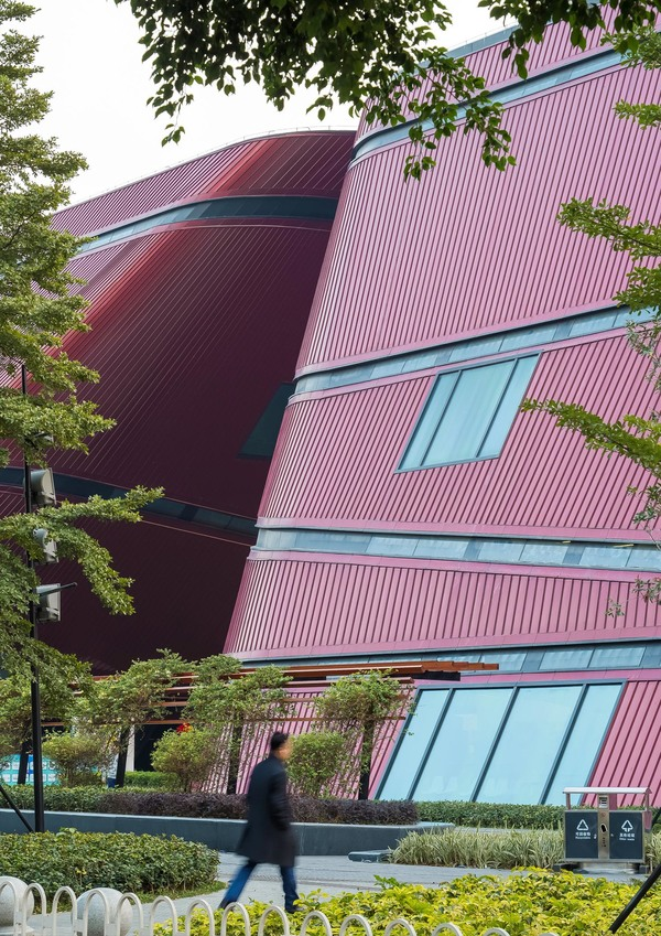 Longgang cultural centre by zhang chao 6