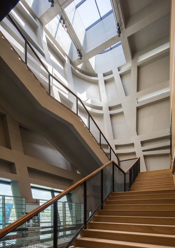 Longgang cultural centre youth centre by zhang chao 25