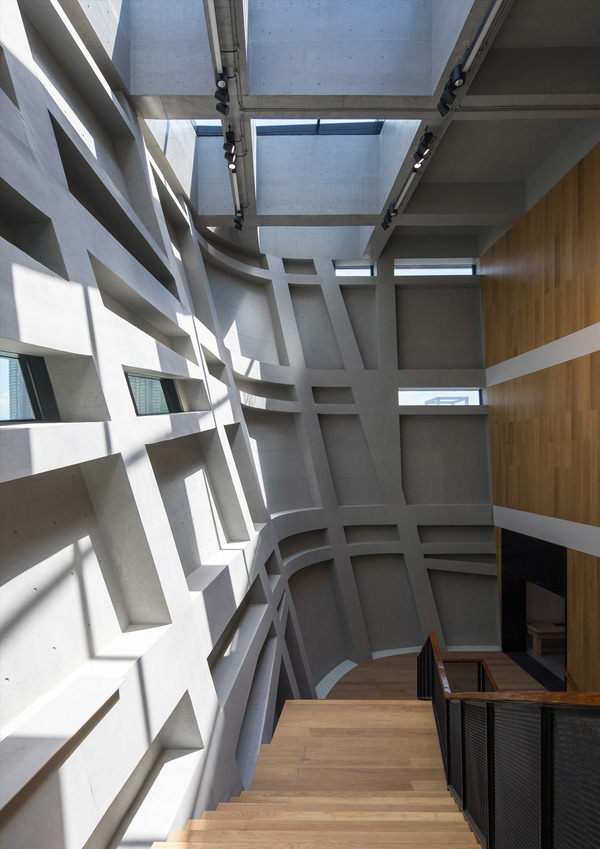 Longgang cultural centre youth centre by zhang chao 26