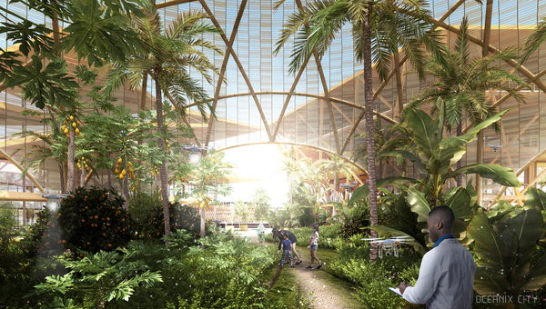 Big sfc oceanix city image by big bjarke ingels group 49 greenhouse