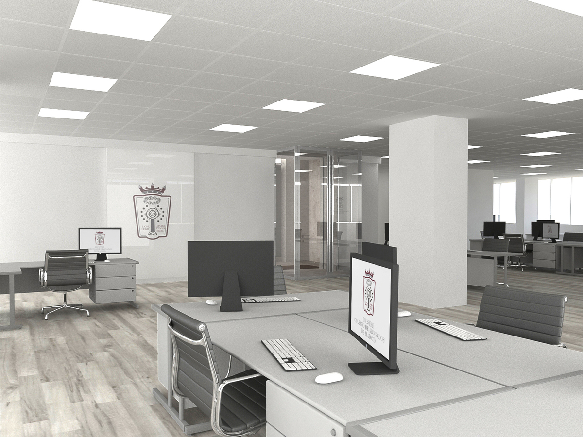 Infograf as de oficinas archtalent for Oficinas amazon madrid