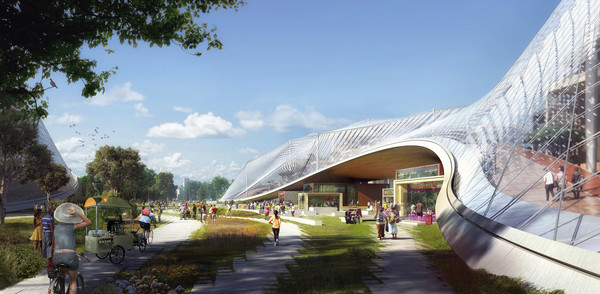 1 google north bayshore image by mir  big   bjarke ingels group   heatherwick studio frontend