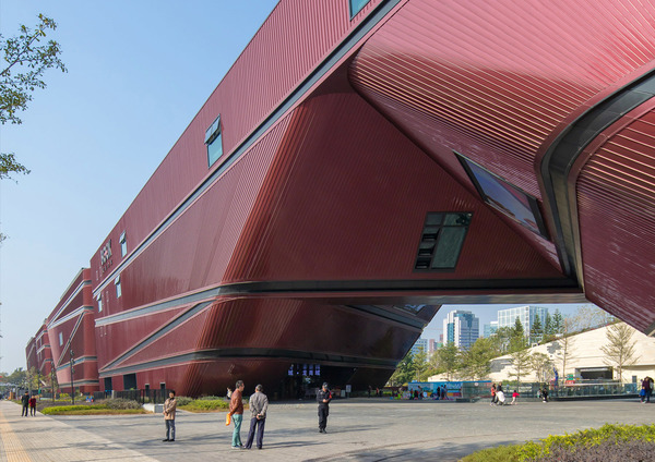 Longgang cultural centre by zhang chao 2