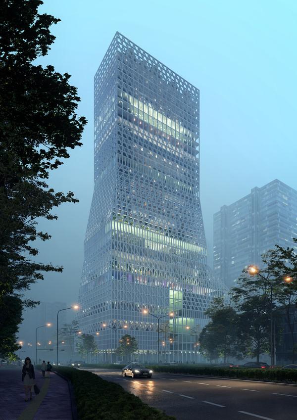 Futian civic culture center 1
