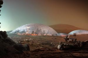 Big mars city first phase 1 image by big bjarke ingels group original