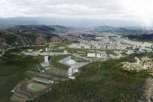 Vista aerea del parque