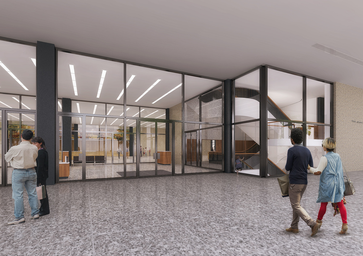 Martin Luther King Jr  Memorial Library | Archtalent