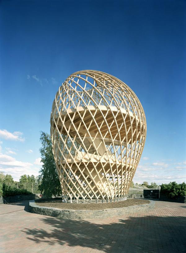 Kupla Helsinki Zoo Lookout Tower Archtalent